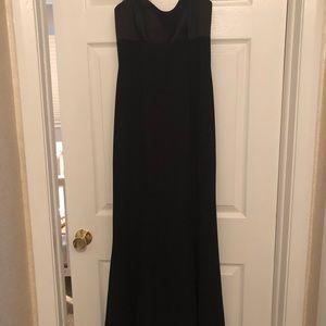 David's Bridal Dresses - Crepe and Satin Formal Dress